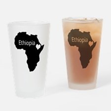 Ethiopia Drinking Glass