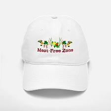 Meat-Free Zone Baseball Baseball Cap
