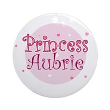 Aubrie Ornament (Round)