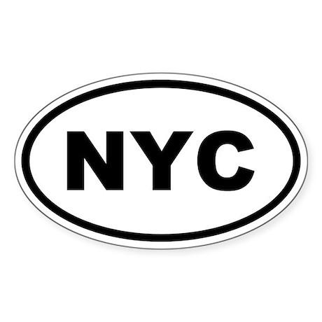 NYC New York City Sticker