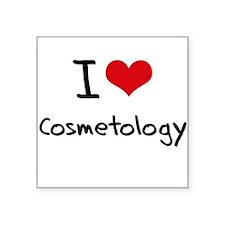 I Love COSMETOLOGY Sticker