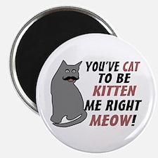 Kitten Me Right Meow Magnet