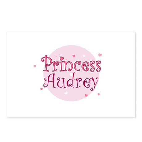 Audrey Postcards (Package of 8)