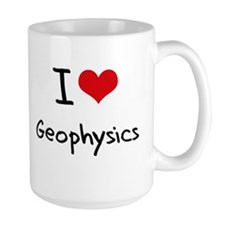 I Love GEOPHYSICS Mug