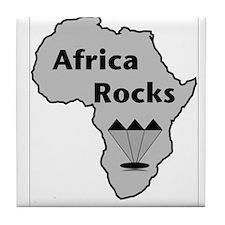 Africa Rocks Tile Coaster