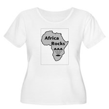 Africa Rocks Plus Size T-Shirt