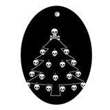 Skulls Oval Ornaments