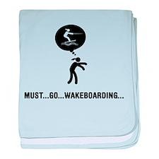 Wakeboarding baby blanket