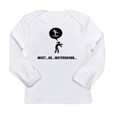 Waterskiing Long Sleeve Infant T-Shirt