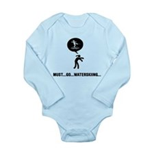 Waterskiing Long Sleeve Infant Bodysuit