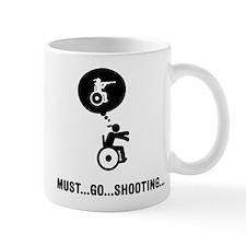 Wheelchair Shooting Mug