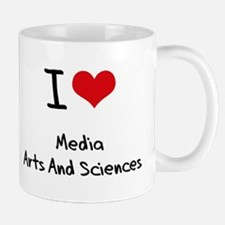 I Love MEDIA ARTS AND SCIENCES Mug