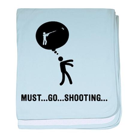 Skeet Shooting baby blanket