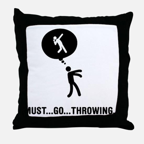 Shot Put Throw Pillow