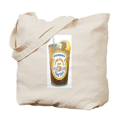 Long Island Iced Tea Fan Club Member Tote Bag