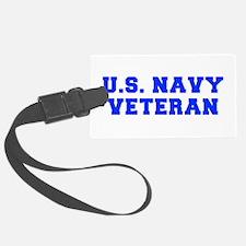 US-NAVY-VETERAN-FRESH blue Luggage Tag