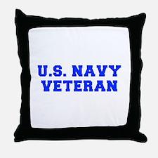 US-NAVY-VETERAN-FRESH blue Throw Pillow