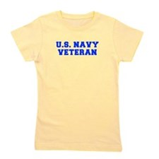 US-NAVY-VETERAN-FRESH blue Girl's Tee