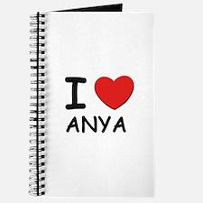 I love Anya Journal