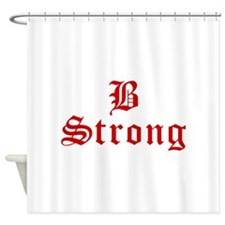 b-strong-old-l-brown Shower Curtain