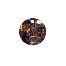 Adoration of the Shepherds Mini Button (10 pack)