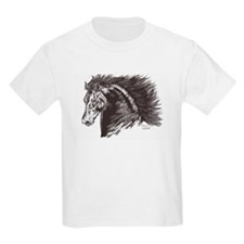 andalusian stallion Kids T-Shirt