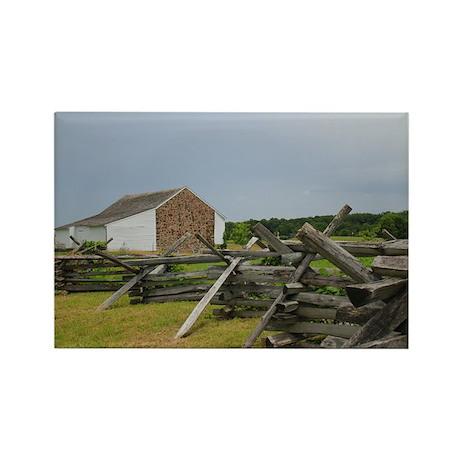 McPherson Barn Rectangle Magnet