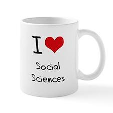 I Love SOCIAL SCIENCES Mug