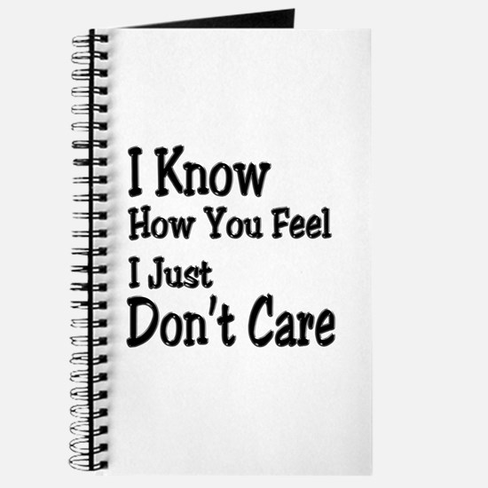 Don't Care Journal