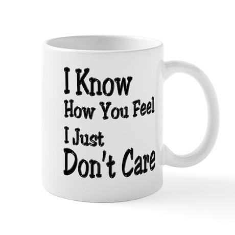 Don't Care Mug