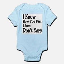 Don't Care Infant Bodysuit