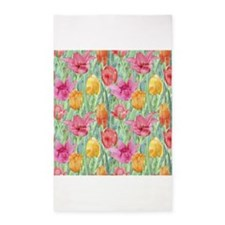 Tulip Meadow 3x5 Area Rug