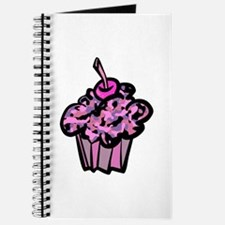 Pinks And Purples Camouflage Cupcake Journal