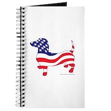 Patriotic Dachshund Journal