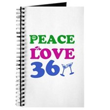 Peace Love 36 Journal