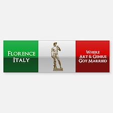 Florence, Italy Car Car Sticker