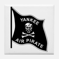 Yankee Air Pirate Tile Coaster