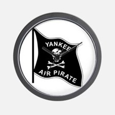 Yankee Air Pirate Wall Clock