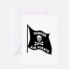 Yankee Air Pirate Greeting Card
