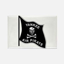Yankee Air Pirate Rectangle Magnet
