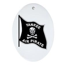 Yankee Air Pirate Ornament (Oval)