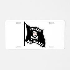 Yankee Air Pirate Aluminum License Plate