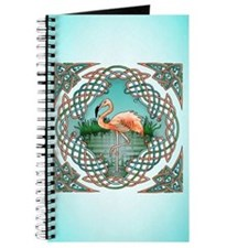 Celtic Flamingo Art Journal
