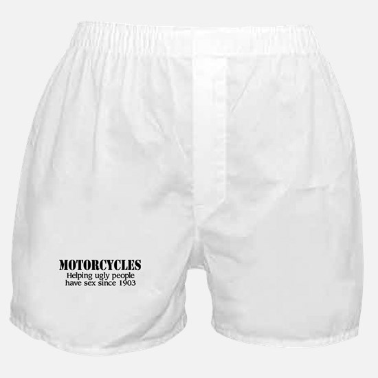 Helping Ugly People Boxer Shorts
