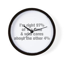 Im-right-97-ak-gray Wall Clock