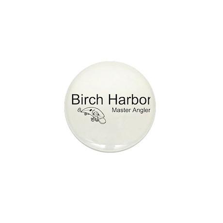 Birch Harbor Blue Mini Button (10 pack)