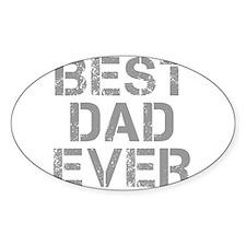 best-dad-ever-CAP-GRAY Decal