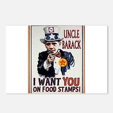 UNCLE BARACK Postcards (Package of 8)