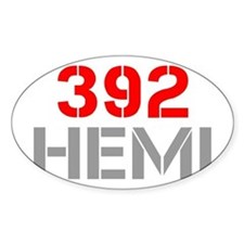 392-hemi-clean-red-gray Decal