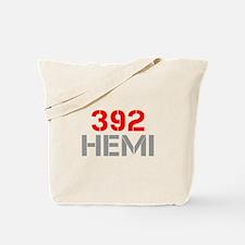 392-hemi-clean-red-gray Tote Bag